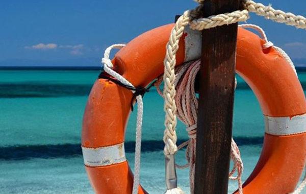 Salvamento a mare