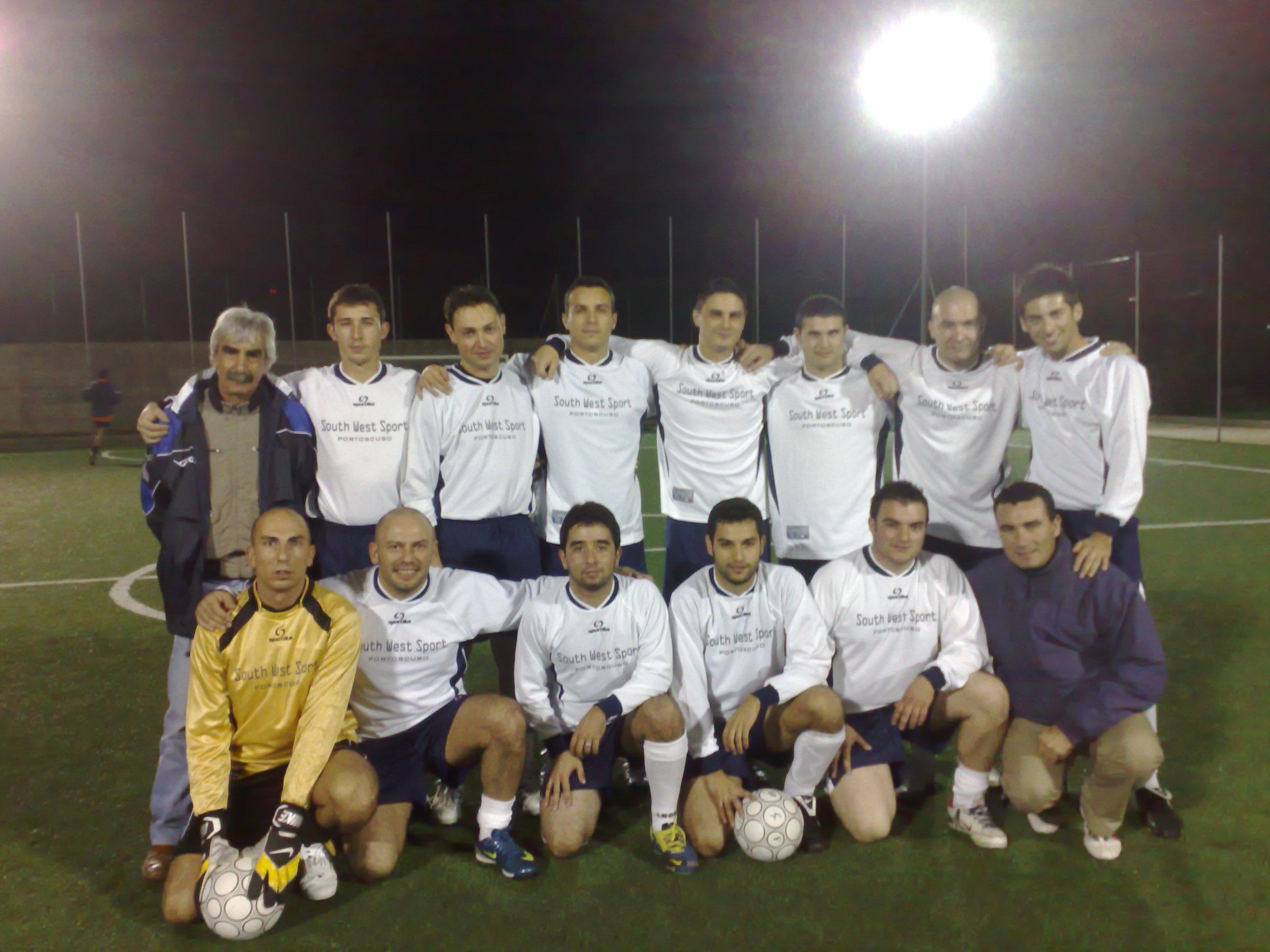 La nostra squadra di calcio a 5 ASD South West Sport