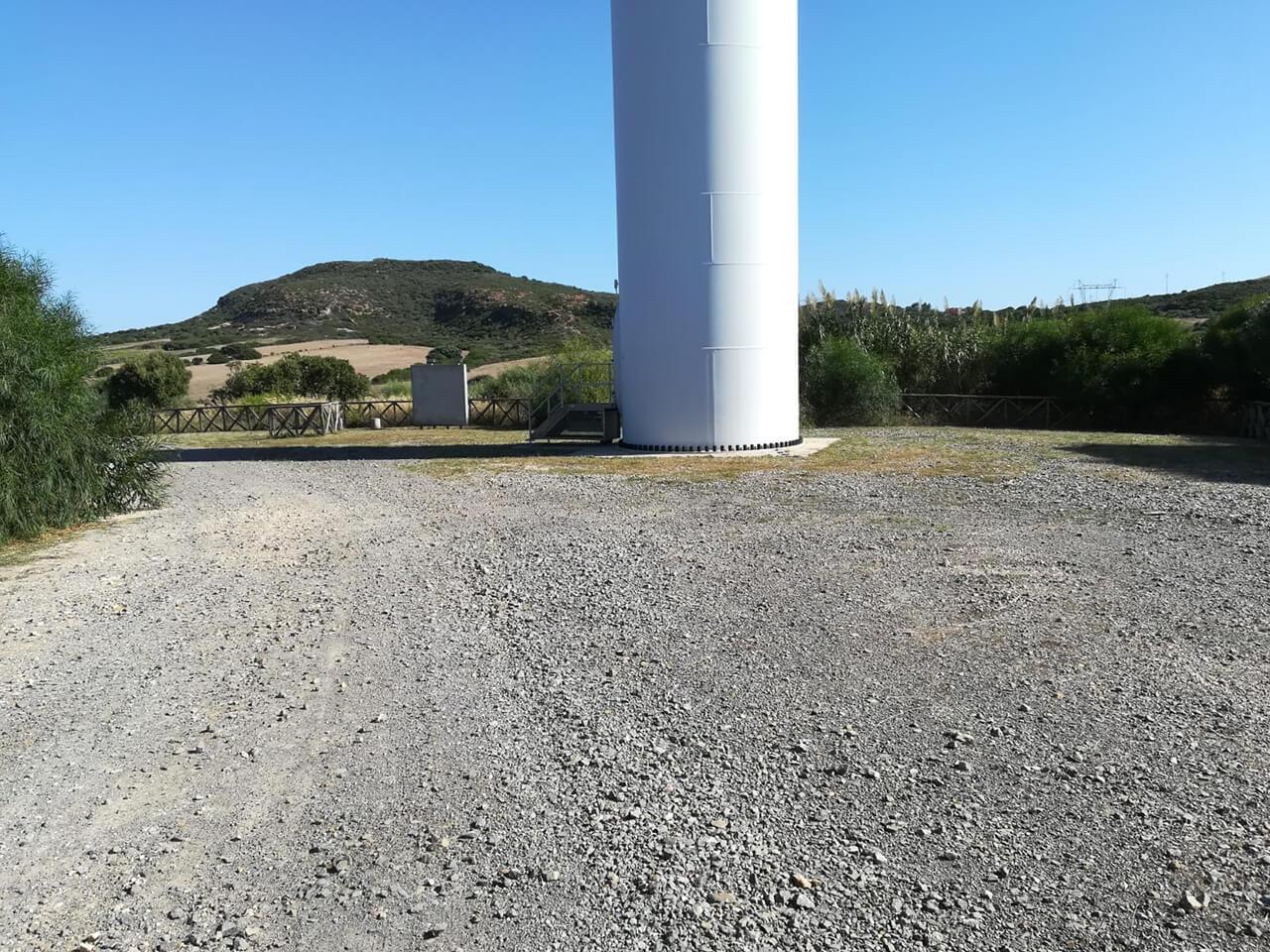 Enel Green Power Spa - Manutenzione aree verdi C.le Eolica Portoscuso e Monte Arci19